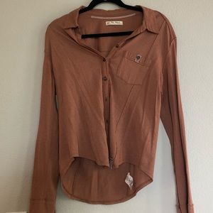 Freepeople Button Up Blouse